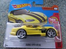 Hot Wheels 2017 #281/365 Dodge Viper RT/10 GIALLO HW POI AND NOW
