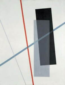 Laszlo Moholy Nagy Untitled Poster Reproduction Paintings Giclee Canvas Print