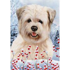 Winter House Flag - Wheaten Glen of Imaal Terrier 15215