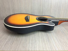 "38"" Caraya C-836BS Round-back Acoustic Guitar--Can Change to Nylon Strings!!"
