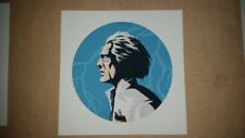DOC BROWN - Giclee by FLOREY - 1/1 - BACK TO THE FUTURE - BTTF - one of a kind