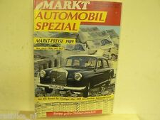 MARKT SONDERHEFT 8,MARKT PRIES 1989,MASERATI,LANCIA,VW