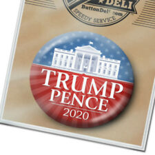 "White House Design - Donald Trump Mike Pence Button for President 2.25"" Pin 2020"