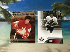 BOBBY ORR LOT 2 SPECIAL EDITION SE59 TEAM CANADA #106 UD 2013 14