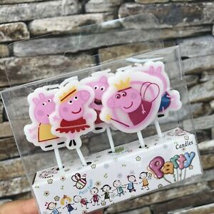 Peppa Pig George  Birthday Cake Candle Candles Topper Party Decoration