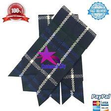 Kilt Hose Sock Flashes Douglas Blue/Scottish Kilt sock flashes Douglas Blue