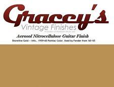 -Shoreline Gold- Gracey's Vintage Finishes Nitrocellulose Guitar Lacquer.