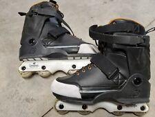 K2 Unnatural Aggressive Men's Inline Skates Freestyle Rollerblades Size Us 12
