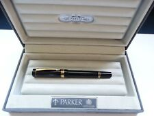 Parker 89 Duofold International Fountain Pen 18k gold nib 750 limited edition UK