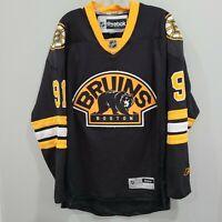 Reebok Premier NHL BOSTON Bruins Marc Savard 91 Alternate Black Jersey Mens M