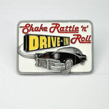 * Rockabilly Belt Buckle Lowider Auto  Hot Rod Gürtelschnalle Rock n`Roll *572