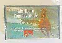 The Best of Marlboro Country Music Vol 1 Cassette Tape 1985 Various Artists