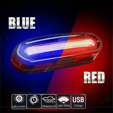 COB LED USB Rechargeable Bike Tail Light Bicycle MTB Cycling Warning Rear Lamp ~