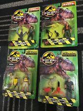 The lost world jurassic park vintage retro set figures toys movie dieter stark