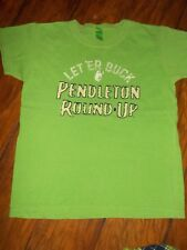 ANVIL BRAND PENDLETON ROUND UP YOUTH BOYS T SHIRT M GREEN