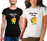 LADIES Little Miss Busy Tshirt cotton