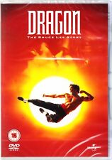 DRAGON - THE BRUCE LEE STORY (1993) DVD REGION 4