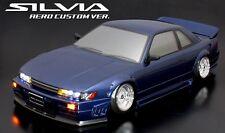 ABC Hobby 66161 1/10 RC Car Nissan Silvia S13 Aero Custom Ver. Clear Body Set