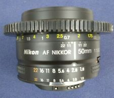 Nikon AF NIKKOR 50mm f/1.8D Lens - Excellent  Condition! * Free Shipping