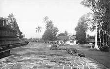 Java Indonesia outside Boroboedur Buddhist Temple real photo pc Y14660