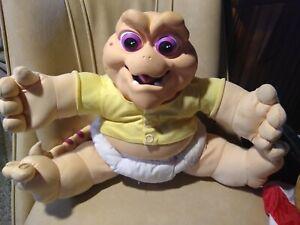 "Vintage 1991 Hasbro Baby Sinclair ""Not The MAMA""   Dinosaur Won't Talk"