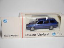VW Passat B3 35i Variant in blau blu bleu blue metallic, Schabak in 1:43 DEALER!