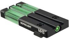 Meprolight Self-Illuminated Fiber Tritium Bullseye Dot Rear Sight-ML63101G