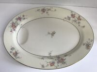 "Vintage Theodore Haviland New York ""Gloria"" Oval Serving Platter 14"" x 11"""
