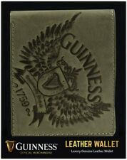 More details for guinness wings grey leather wallet (sg)