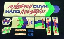 Nos OS BMX Decal Sticker for haro freestyler sport frame handle bar fork chrome