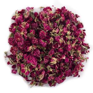 Burgundy Rose Buds 100g - Free UK Delivery