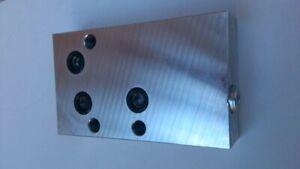 IHC Verteilerplatte Bosch SB1 Hydraulik Zwischenplatte Steuergerät