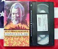 Nostradamus The Life, Prophecies, and Mystique of (VHS, 1988) Documentary Rare