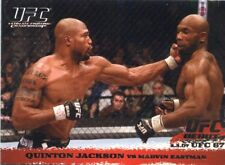 2009 TOPPS UFC ROUND 1 ROOKIE RC DEBUT SILVER #/288 QUINTON RAMPAGE JACKSON #58