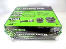 "1-1/2"" - 2"" Greenlee 737BB Manual Knockout Punch Kit - In Original Shrinkwrap"