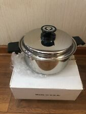 Regal Ware West Bend Cookware Surgical Stainless 304 w/ Titanium Induction USA