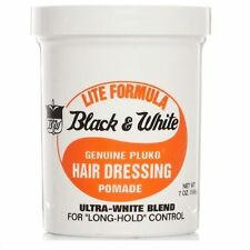 Black and White **Light Formula** Hair Wax Genuine Hair Dressing Pomade  200ml