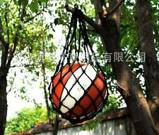 Nylon Net Bag Ball Carry Mesh Net Bags for Volleyball Basketball Football black
