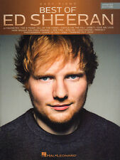 Ed Sheeran Best of Songbook Updated 14 Pop Songs Noten Easy Piano Klavier leicht