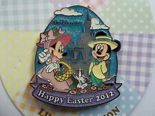 Walt Disney World 2012 Mickey & Minnie Happy Easter Pin - Limted Edition of 1500