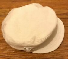 Sonia Rykiel Bebe Ivory Flat  Cap  Size 44 Adorable For Holiday