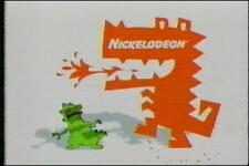 Nickelodeon Nick toons Hey Arnold  TV Used Sold as Blank VHS Commercials 2002