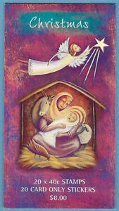 Australian 2002 Christmas Booklet Stamp MNH BAB166