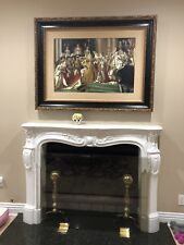 Oil Painting - The Coronation of Napoleon, reproduction- Framed