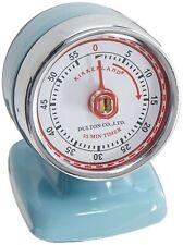 Temporizador De Cocina Vintage Aerodinamico, Azul