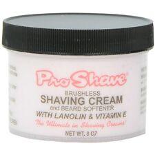 Pro Shave Shaving Cream - Beard Softener with Lanolin - Vitamin E 8 oz 2pk