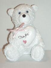 Baby Daughter Girls Teddy Bear Grave Side Memorial Graveside Graveyard Ornament