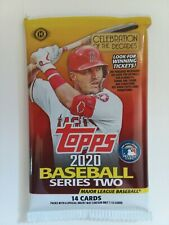 2020 Topps Ii Hobby Baseball 14 Card Pack Nip Autographs Relics Possible Trout