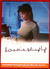 Space 1999 - Laraine Humphrys as Nurse Anne - Autograph Card - Unstoppable 2018