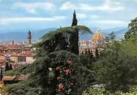 B33808 Firenze panorama from the Avenue of the Hills     italy